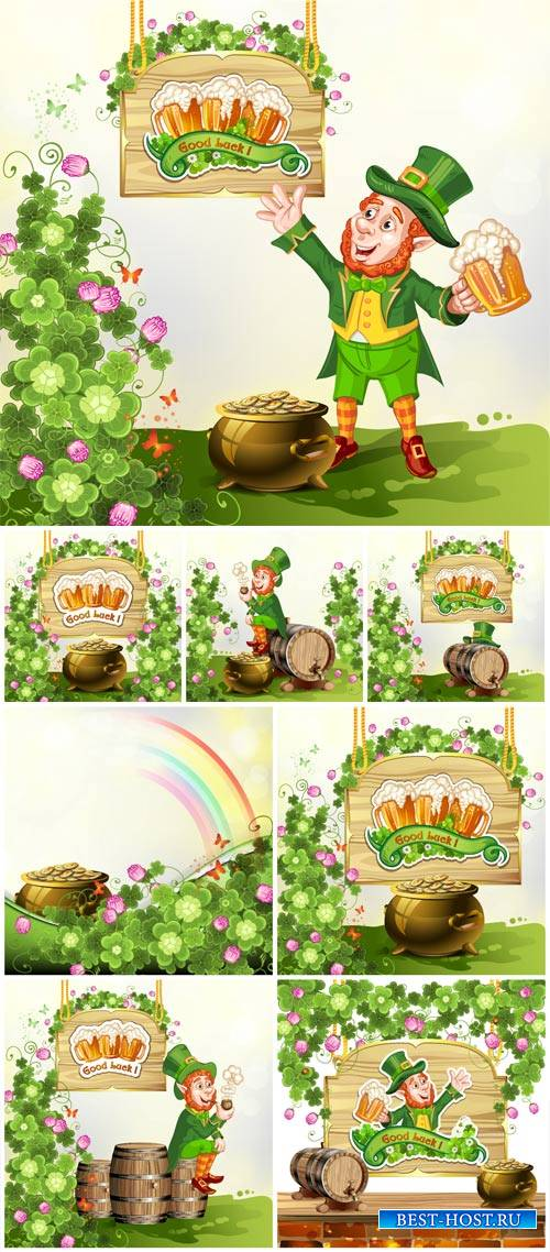 St. Patrick's Day, vector background