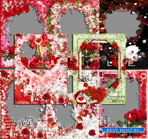 Сборник фоторамок - Love is...