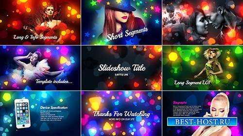 Colorful Shapes - Project for After Effects (Videohive)