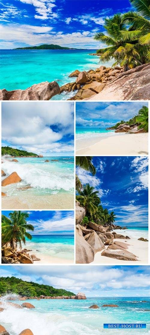 Seas, landscapes, seaside - stock photos
