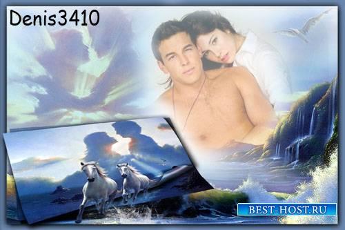 Романтическая рамка для фото - Любовь и верность!