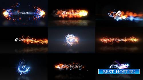 Quick Logo Sting Pack 07: Energetic Particles - Project for After Effects ( ...