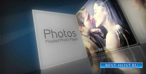 Pleated Photo Pages - Project for After Effects (Videohive)