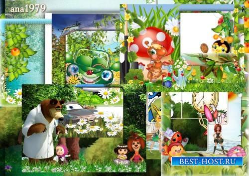 Сборник детских рамок - Наша радость