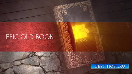 Epic Old Book - Project for After Effects (Videohive)