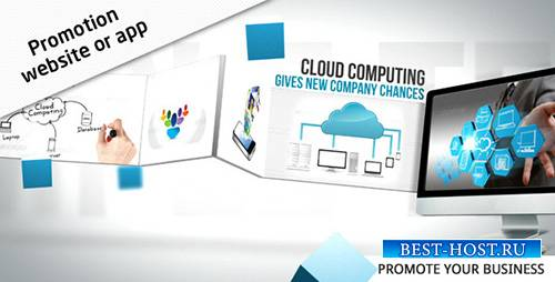 Promotion Website / App - Project for After Effects (Videohive)