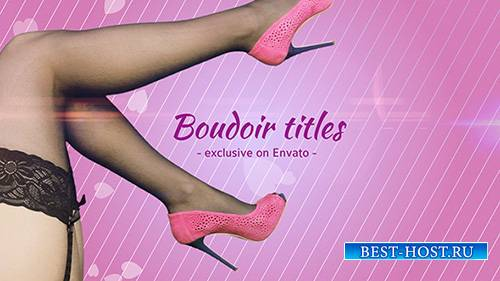 Boudoir Titles - Project for After Effects (Videohive)