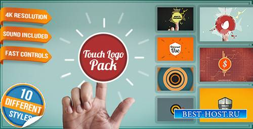 Touch Logo Pack - Flat Interactive Media Reveals - Project for After Effect ...