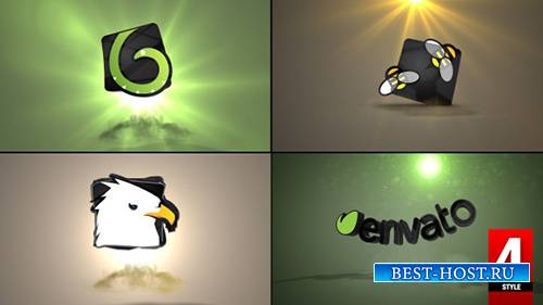 3D Gravity Logo - Project for After Effects (Videohive)
