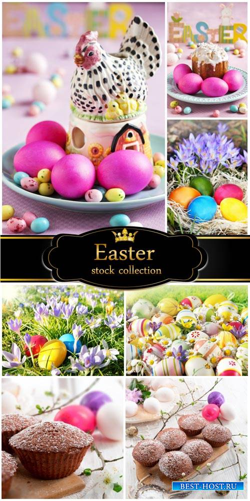 Easter, traditional Easter meal - stock photos