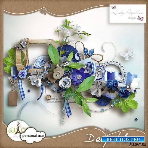 Scrap - DEEP BLUE