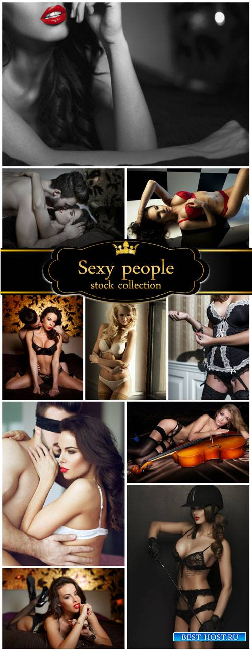 Sexy girls, people - stock photos