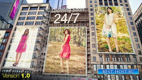 City - Ads on Buildings - Project for After Effects (Videohive)