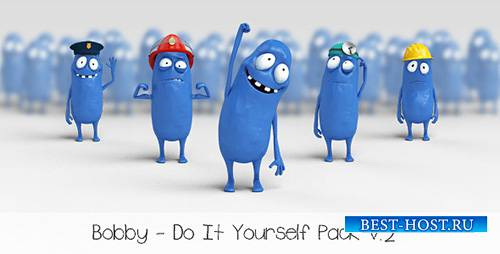 Bobby - Character Animation DIY Pack - Project for After Effects (Videohive ...
