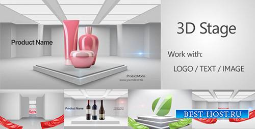 3D Stage 3D Promo - Project for After Effects (Videohive)