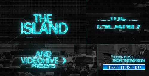 The ISLAND (Sci Fi) Cinematic Title Sequence - Project for After Effects (V ...