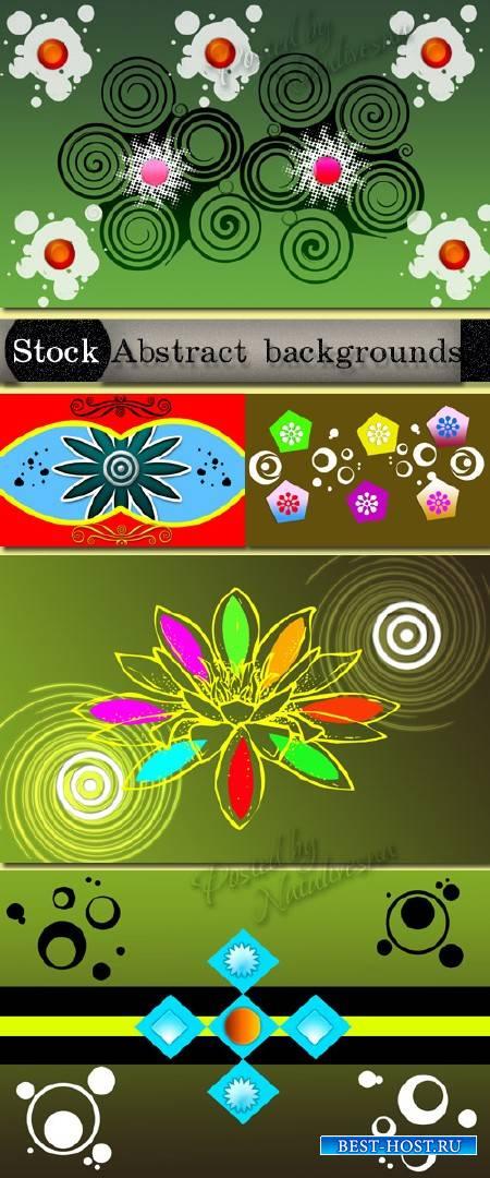 Абстрактные элементы - Фоны для креативного дизайна
