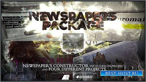 Newspapers Package - Project for After Effects (Videohive)