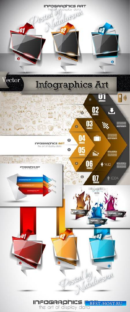 Infographics Art in Vector # 13