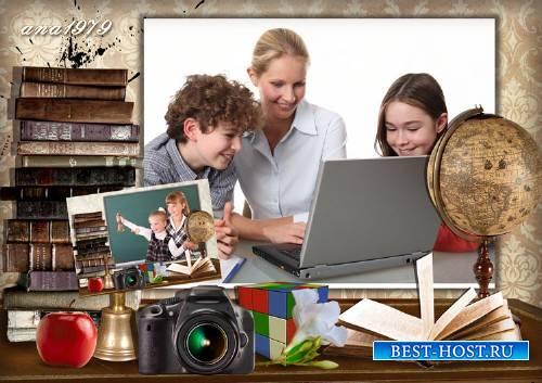 Рамка для photoshop – Фото на стене