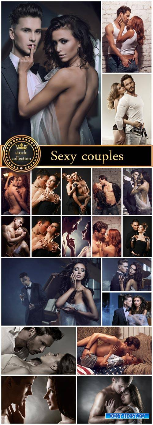 Sexy couples - stock photos