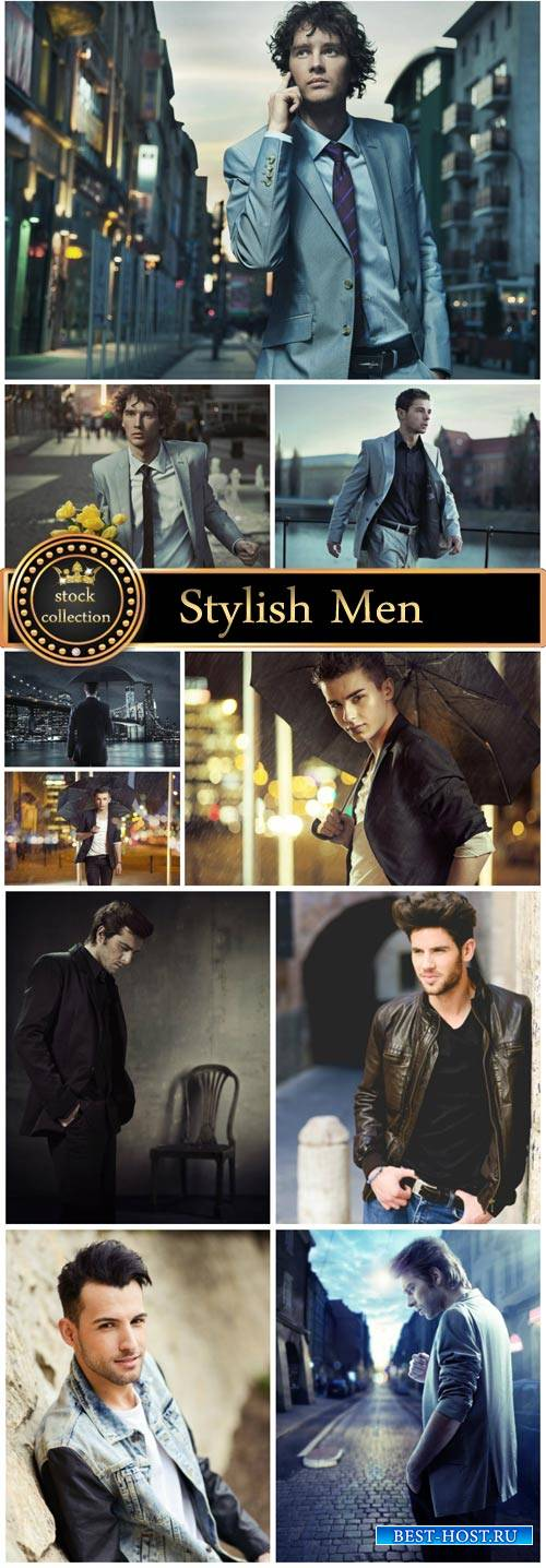 Stylish Men - stock photos