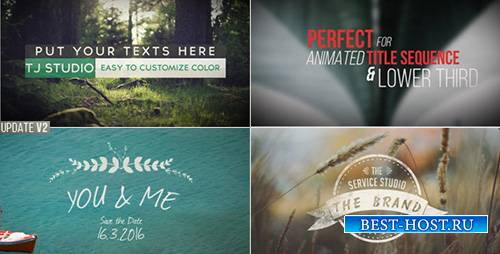 70 Title Animation Pack - Project for After Effects (Videohive)