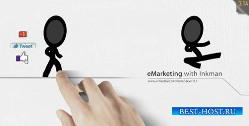 E-Marketing with Inkman - Project for After Effects (Videohive)