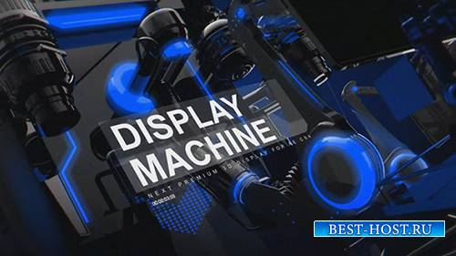 Display Machine - After Effects Template (MotionArray)