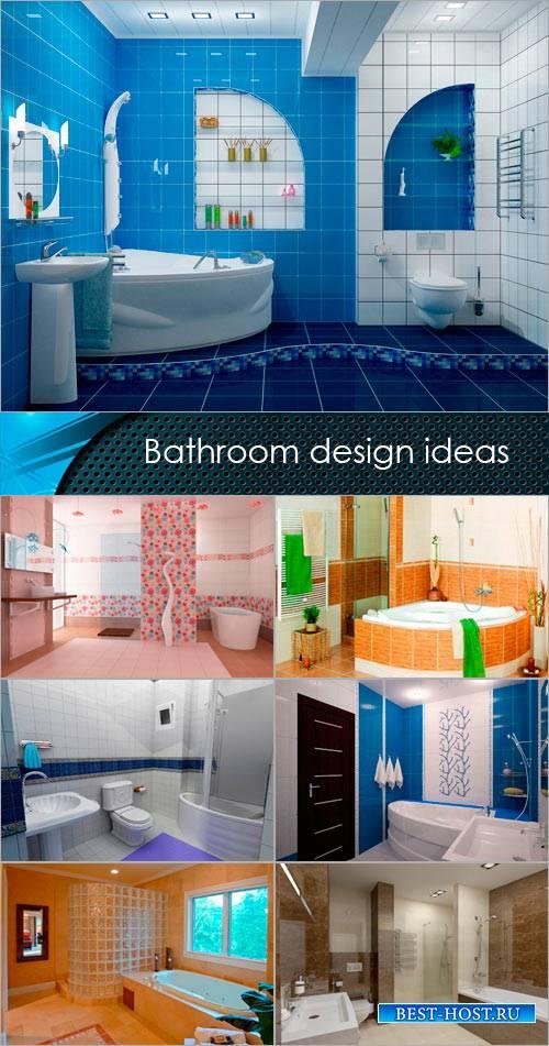 Идеи дазайна ванной комнаты