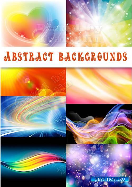 Красивые абстрактные фоны - Нежные, яркие, звездные