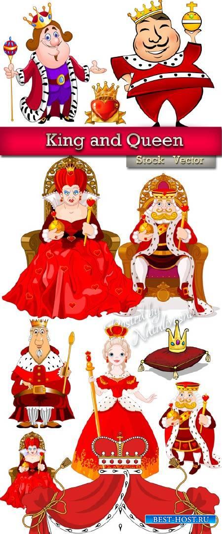 Король и королева – Подборка в Векторе