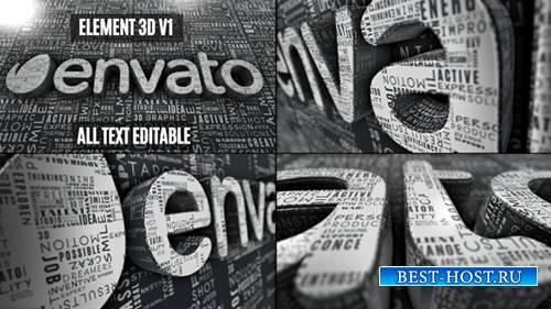Creative Words Logo Reveal - Project for After Effects (Videohive)