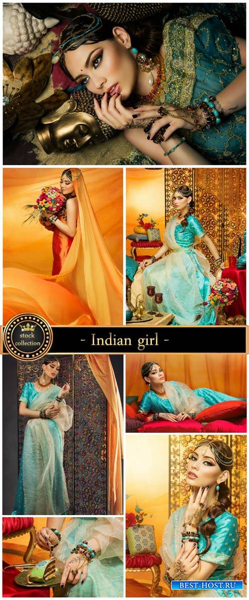 Indian girl - stock photos