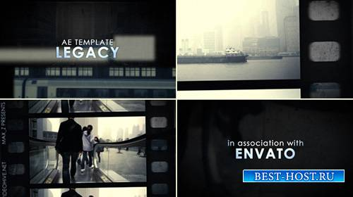 Legacy Film Tape Slideshow - Project for After Effects (Videohive)