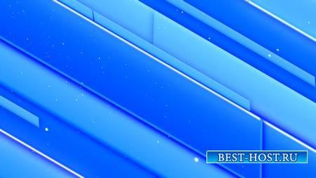 Футаж с голубыми диагональными полосами