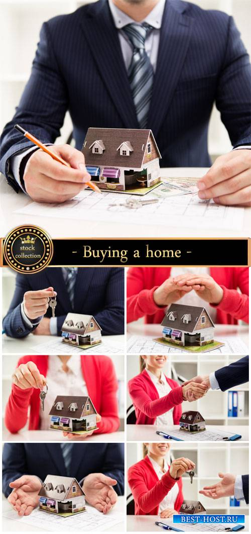 Buying a home, business deal - Stock photo