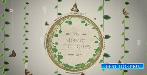 Story of Memories - Project for After Effects (Videohive)