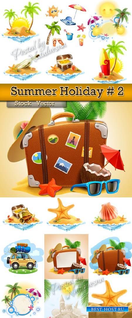 Летний праздник у моря  # 2 – Большая подборка в Векторе на тему лета