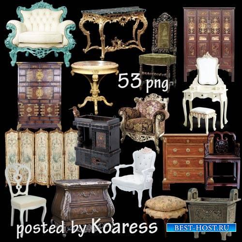 Стулья, кресла, шкафы, столы - старинная и винтажная мебель - подборка клип ...