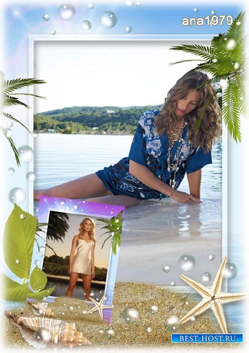 Рамка для photoshop – Романтическое лето