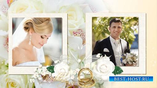 ProShow Producer свадебный проект - Белые цветы
