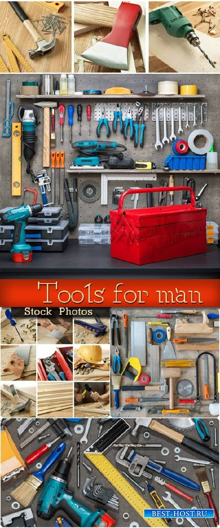 Набор инструментов для настоящего мужчины – Stock photo