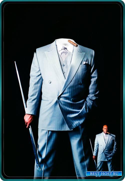 Шаблон для парней - Деловой бизнесмен