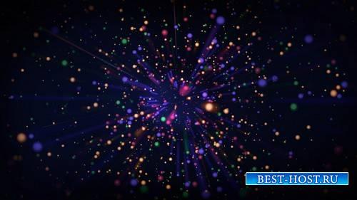 Футаж с наплывающими разноцветными шариками / Volatile Situation HD