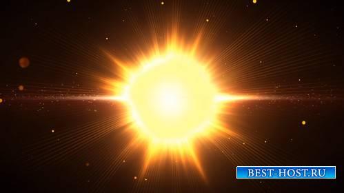 Красивые Футажи - Световое излучение / Make An Explosion HD