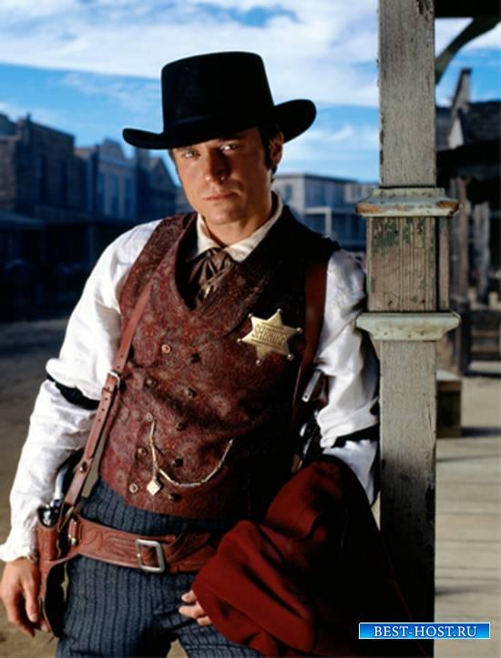 Шаблон  мужской - Шериф