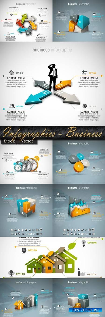 Подборка инфографики в Векторе – Бизнес 2