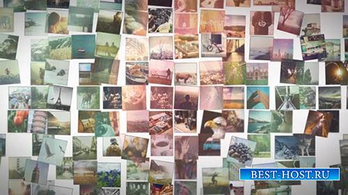 Mosaic Picture Slideshow - After Effects Template (MotionArray)