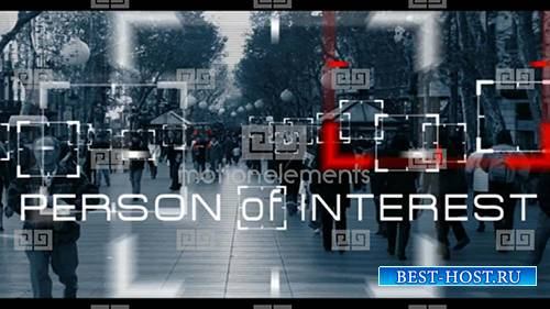 Person Of Interest - After Effects Project (MotionElements)